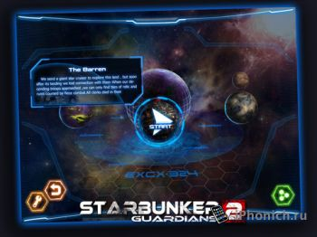 StarBunker:Guardians2 HD - лучшая TD iPad игра 2011.