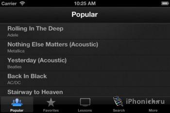 Songsterr Plus на iPhone и iPad