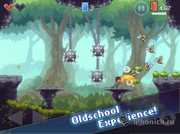 Платформер Spellsword (iPhone, iPad)