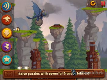 Головоломка DreamWorks Dragons: TapDragonDrop для iPhone и iPad