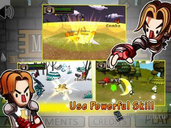 Платформер Mission Sword для iPhone и iPad