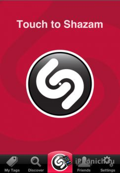 Shazam RED для iPhone