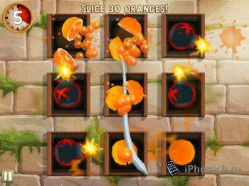 Fruit Ninja: Puss in Boots для iPhone и iPad