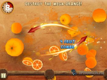 Fruit Ninja: Puss in Boots для iPhone и iPad