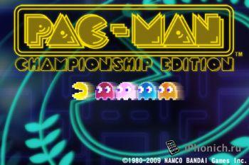 Игра на iPhone PAC-MAN Championship Edition
