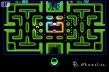 Игра на iPhone PAC-MAN Championship Edition