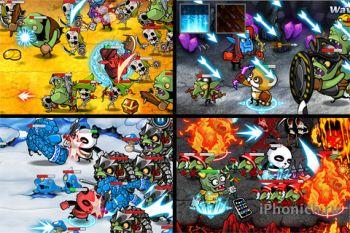 Стратегия Nine Worlds для iPhone
