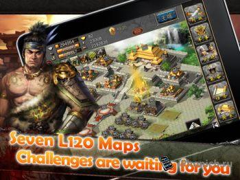 Chaos of Three Kingdoms Deluxe - захватывающая стратегия для iOS