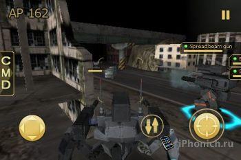 Игра на iPhone MetalWars 2