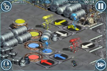 Гловоломка Star Wars Pit Droids для iPhone / iPad