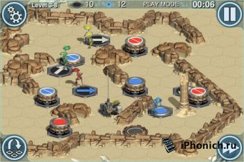 Гловоломка Star Wars Pit Droids для iPhone / iPad