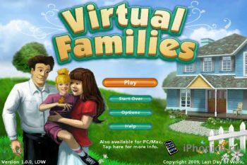 Virtual Families - симулятор жизни