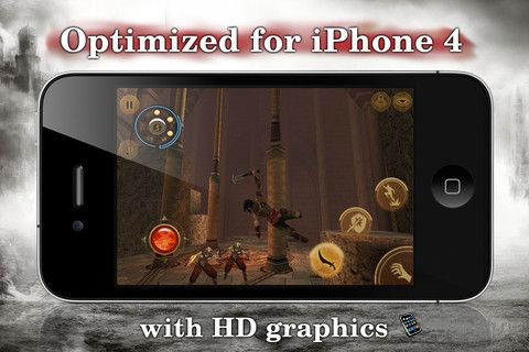 Prince of Persia: Warrior Within - оптимизирован для iPhone 4