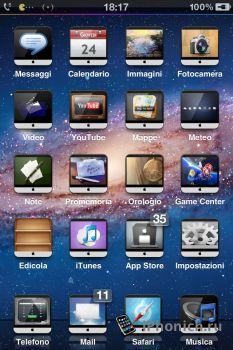 iMac-iCons - одна из лучших тем для iPhone