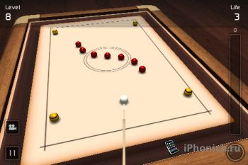Crazy Pool 3D - сумашедший бильярд для iPhone