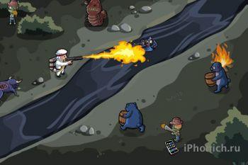 Lamebo VS. Zombies - яростный зомби акшен для iPhone