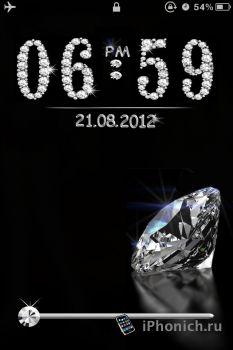 LS Diamond - тема на iPhone 4S