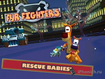 Fur Fighters: Viggo on Glass - экшн для iPad и iPhone