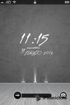 LS Elegant Room - тема для iPhone 4S