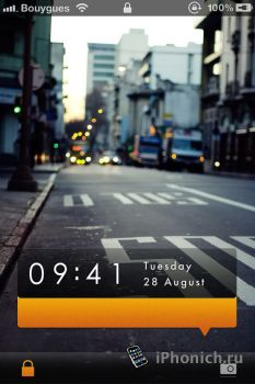 Danael M9 Lockscreen 2.0 - тема для iPhone 4S