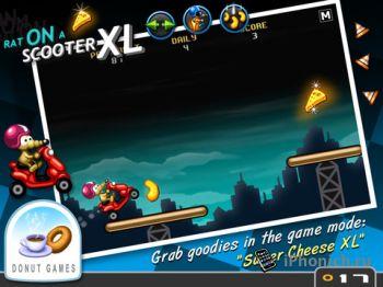Rat On A Scooter XL - игра № 1 по загрузкам в 33 странах