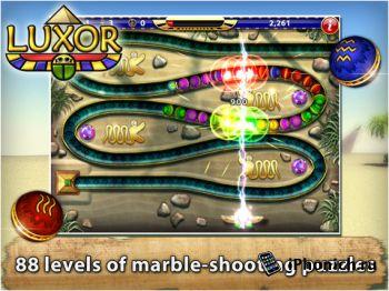 """Luxor HD - лучшая игр в жанре """"три в ряд"""""""