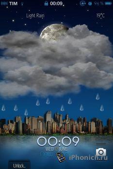 LS City DayNight GPS - тема для iPhone 4S
