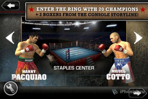 Fight Night Champion by EA Sports™ - бокс для iPhone