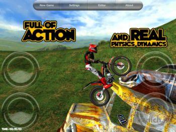 Motorbike HD - мототриал для iPhone / iPad / iPod Touch