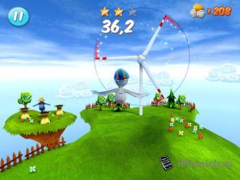 Crash Birds Islands - 3D моделирование полета птицы