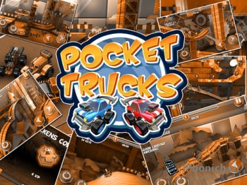 Pocket Trucks - сайд скроллинг гонки