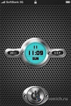 LS DDT BILL3T - тема для iPhone 4s