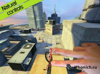 Touchgrind BMX - одна из трех лучших игр для iPhone 2011 года