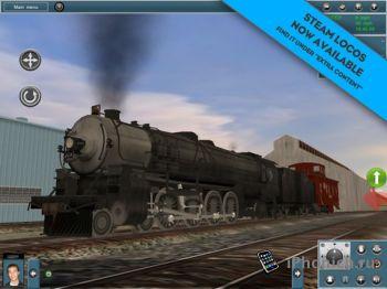 Trainz Simulator - симулятор железной дороги на iPad