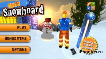 Crazy Snowboard - Play Your iPod Music!