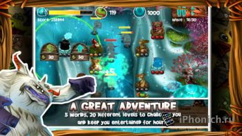 Wild Heroes - игра жанра Tower Defense