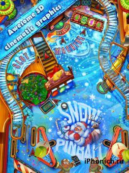 Pinball HD - отличный пинбол, графика просто супер