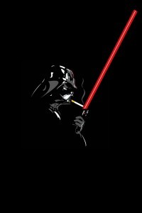 Darth-Vader-Smoke-Break-iphone-4s-wallpaper-ilikewallpaper_com