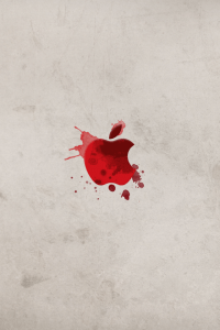Dexter-Apple-Logo-iphone-4s-wallpaper-ilikewallpaper_com