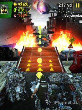 TheEndApp - постапокалиптическая аркада где вы будете бежать