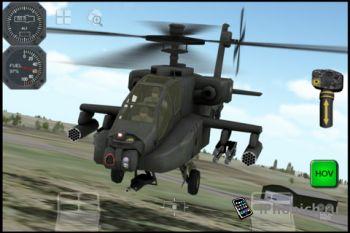 Apache 3D Sim - Самый реалистичный COMBAT SIM для iPhone