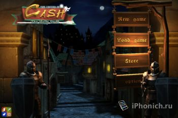 The legend of Cash HD  - RPG для iPhone / iPad