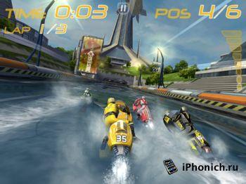 Riptide GP  - игра в стиле гонок на воде