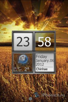 LS Friday - тема для iPhone 4s