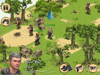 Mercenary of Zen Free - тактическая игра.