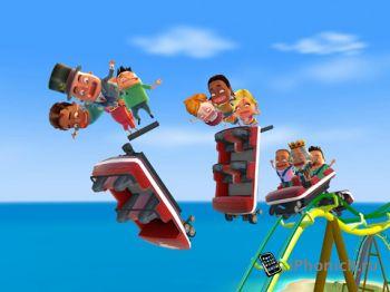 Coaster Crazy - Аттракционы! Панды! Зомби! Девушки из группы поддержки!