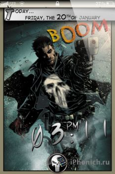 LSComics Punisher Edition для iPhone 4s