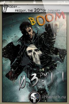 LSComics Punisher Edition для iPhone 4s