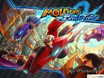 Mole Kart 2 Evolution - гоночная аркада.