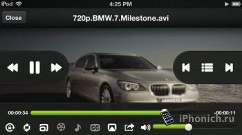 Видео и аудио плеер для OPlayer на iPhone и iPad
